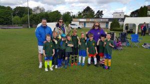 3rd Stoneleigh Epsom & Ewell District Beaver football Team