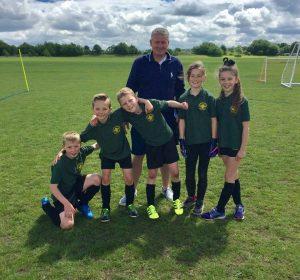 3rd Stoneleigh Epsom & Ewell District cub football Team