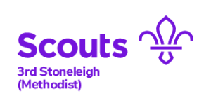 3rd Stoneleigh Scout Group Logo